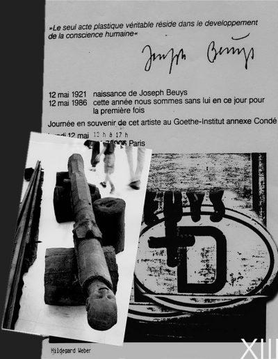 XXXII - ´Hommage à Beuys 1986´
